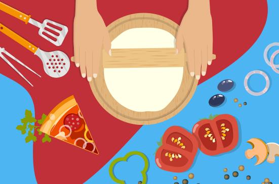 Talleres de elaboración de pizzas