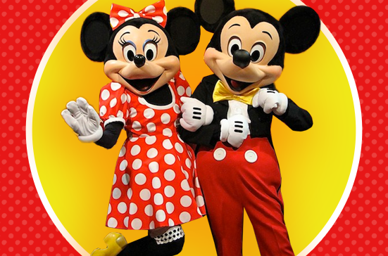 MEET AND GREET WITH MICKEY AND MINNIE MOUSE